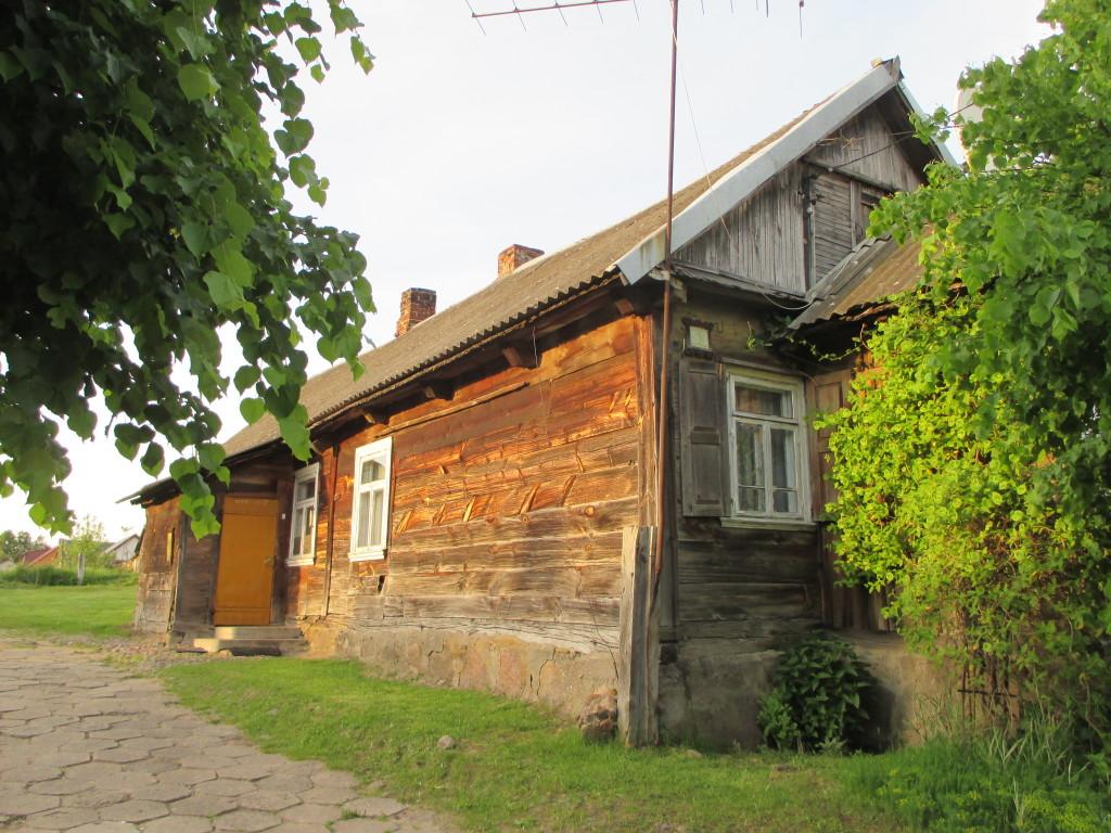 Białowieża - drewniana, tradycyjne chata