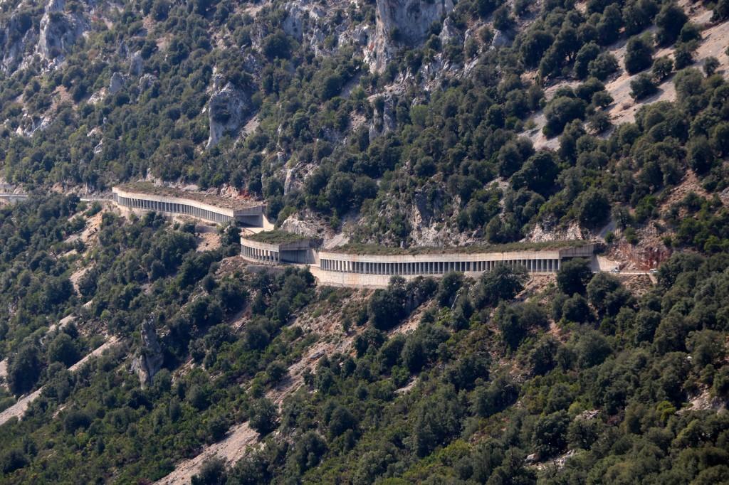 Droga SS125 z Baunei do Dorgali