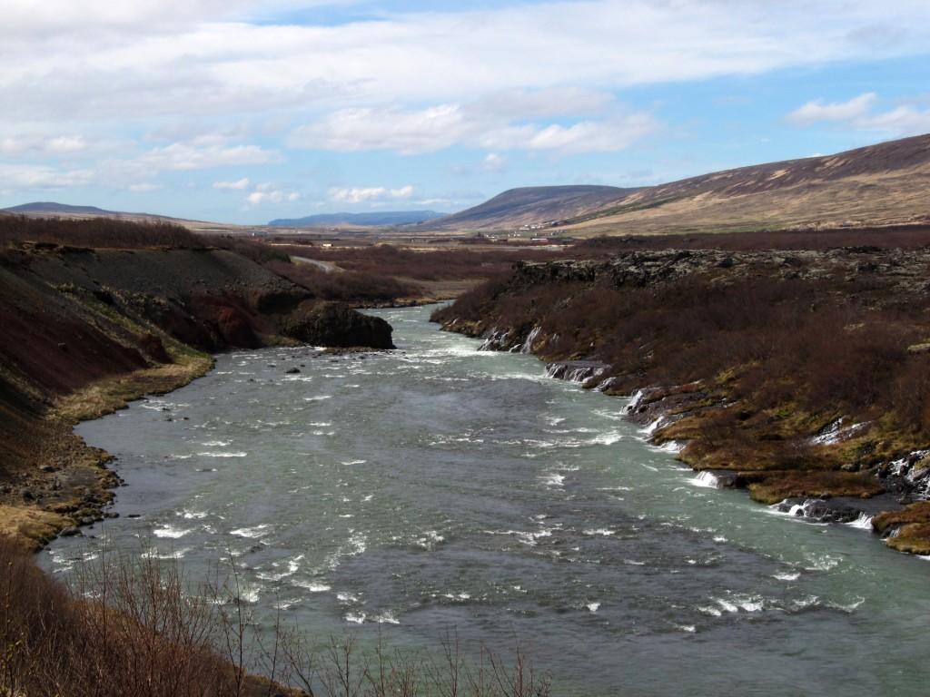 Hraunfossar Islandia