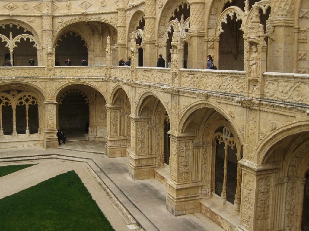 Wnętrze Klasztoru Hieronimitów