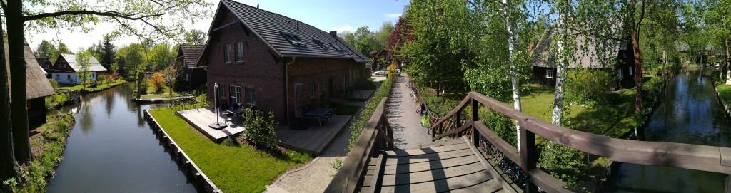 Panorama w Lehde