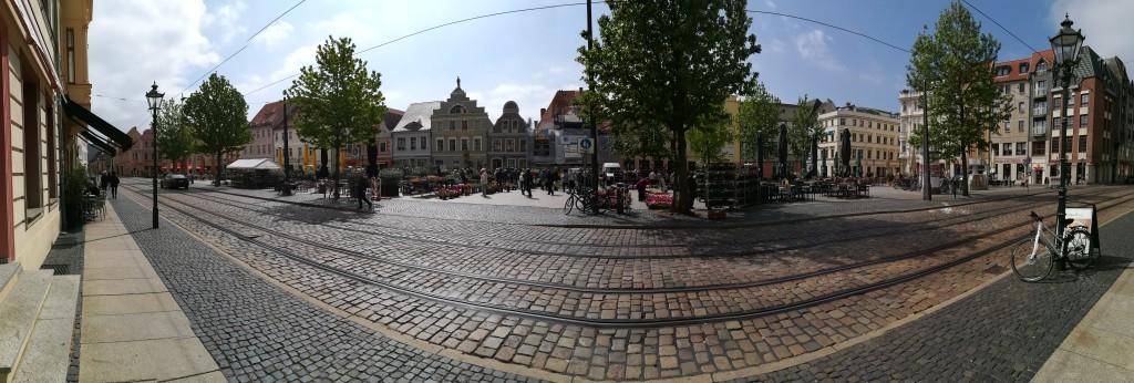 rynek w Cottbus