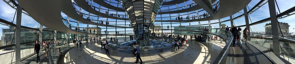 Berlin na weekend - Reichstag
