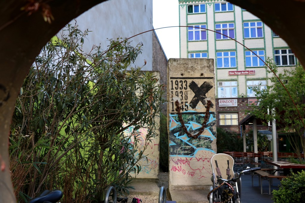 Berlin na weekend  - mur berliński