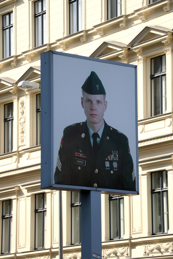 Berlin na weekend Checkpoint Charlie
