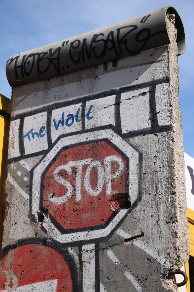 Berlin na weekend mur berliński