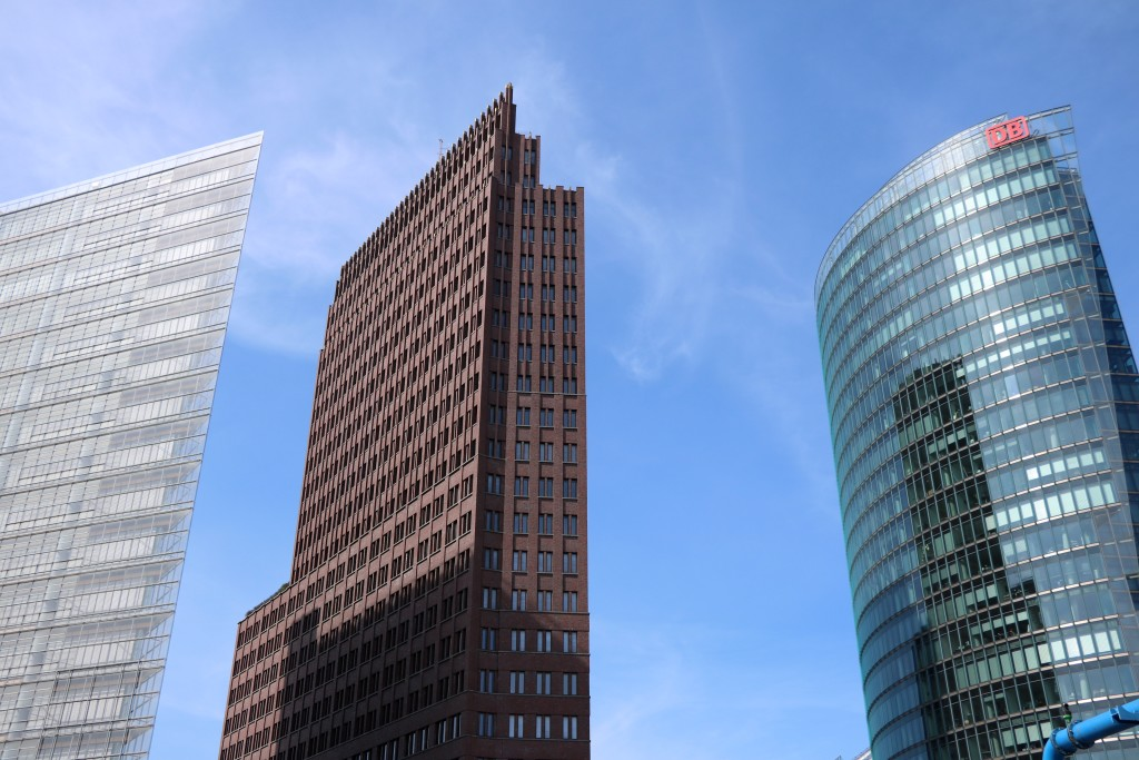 Berlin na weekend Potsdamer Platz