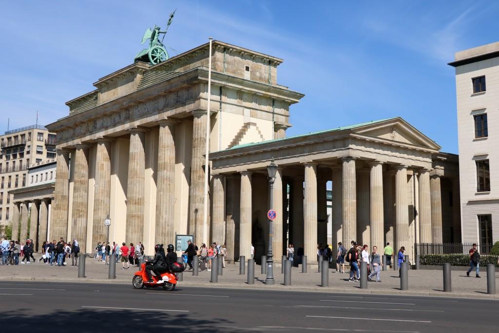 Berlin na weekend - Brama Brandenburska