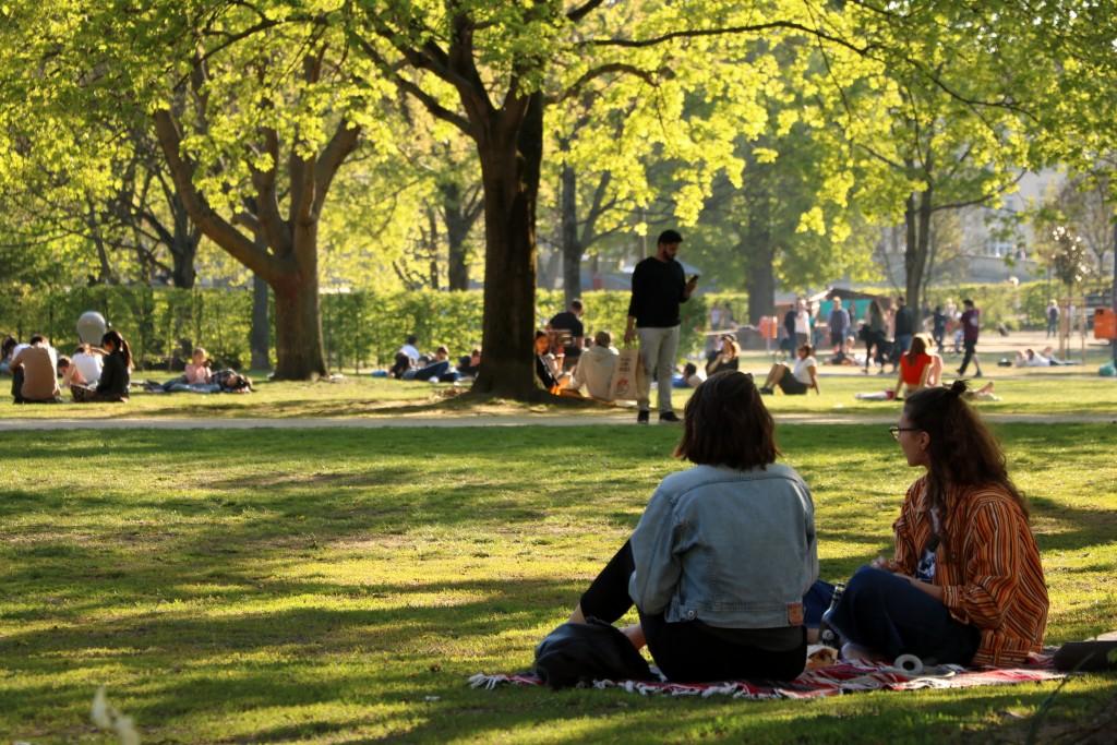 Berlin na weekend Monbijou Park