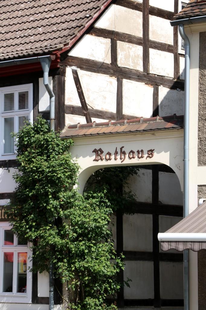 Architektura miasteczka Lübbenau