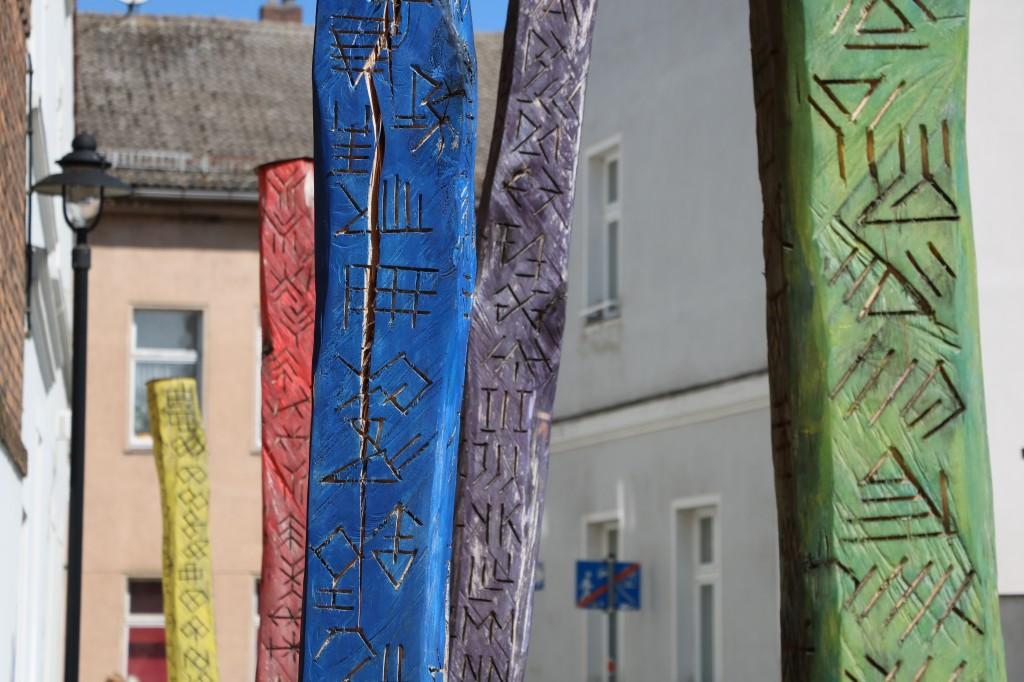 Boczne uliczki Lübbenau
