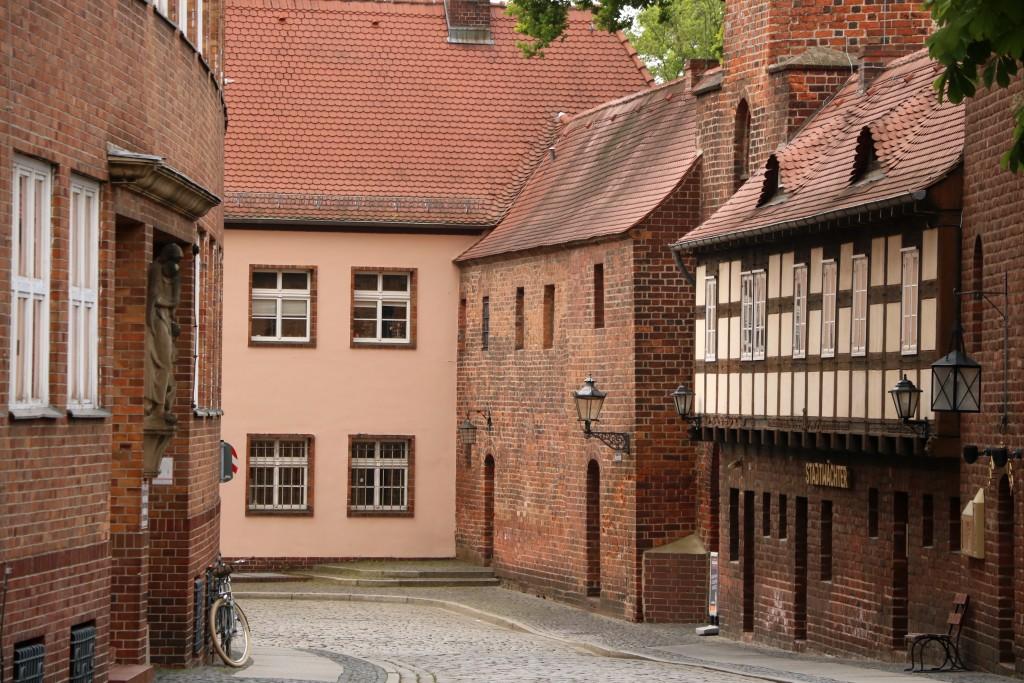 Stare miasto w Cottbus
