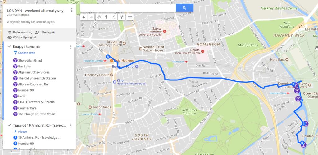 jak zrobić własną mapę w Google?